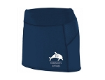 Girls Navy Skorts